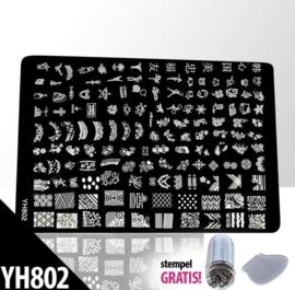 Stempel plaat XL - YH 802
