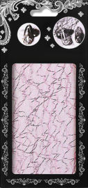 aurora laser kant 4 pink silver