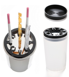 brush cleaner cup