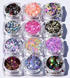 dotties (set 1) 12 kleuren
