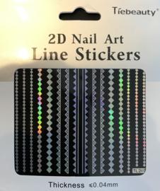 monochromate sticker nr. 207