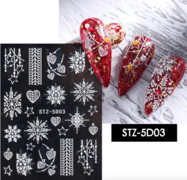 kerst sticker 5D03