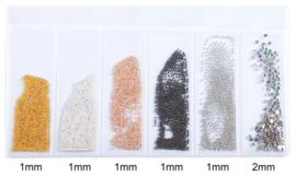 caviar bullion beads mix