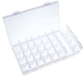 nailart opbergbox transparant