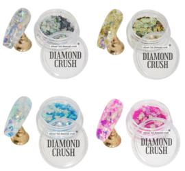 crushed diamond set 4 kleuren