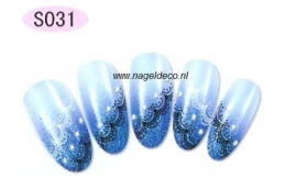 nagel sticker S031 black&white