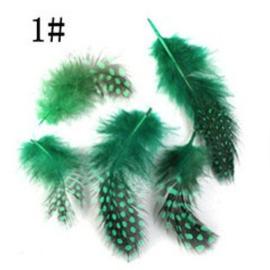 veertjes groen 5 stuks