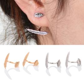 oorstekers leaf goud of zilverkleurig (alleen gratis volgens de vermelde voorwaarden)
