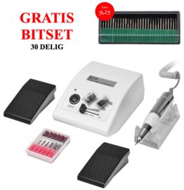 nagelfrees JD500 (wit) + gratis bitset (t.w.v. 9,25)