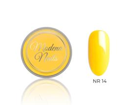 color acryl yellow nr. 14 - 10ml