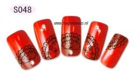 nagel sticker S048 black