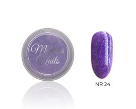 color acryl glitter purple nr. 24 - 10ml