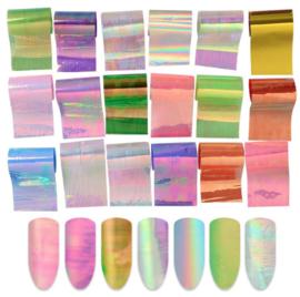 aurora foil set 20 designs (in zakje)