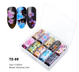 transferfolie box flowers 09