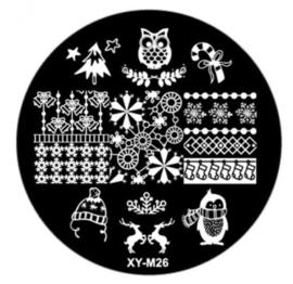 kerst plate XY-M26