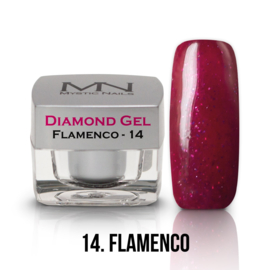 gel 14 flamenco diamond