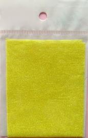 glitter papier neon yellow (nr.2)