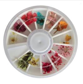 dried flower wheel 2
