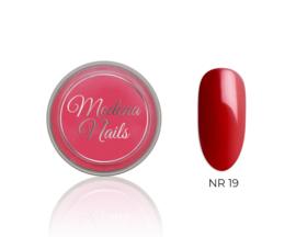 color acryl red nr. 19 - 10ml