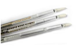 siliconen penselen set (fijn)