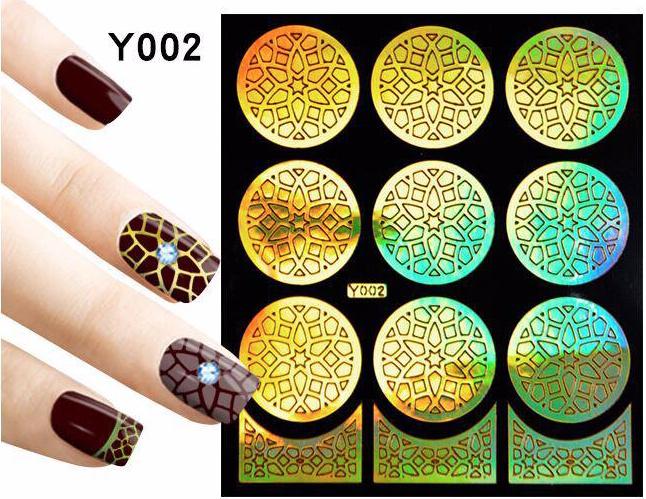 nail art mal goud nr. 002