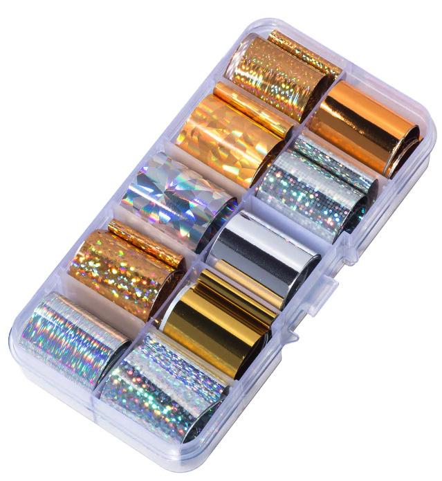 transferfolie box goud en zilver