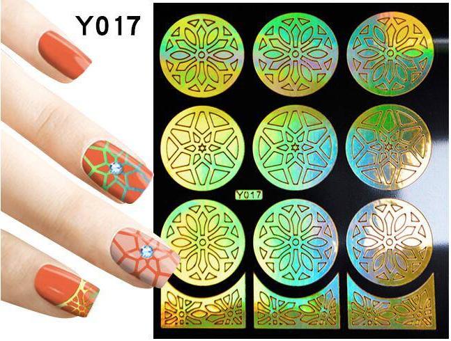 nail art mal goud nr. 017