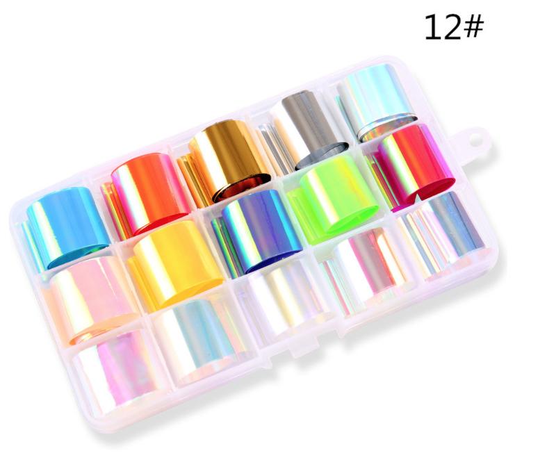aurora foil box 12