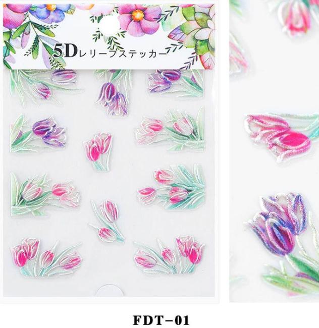 5D sticker FDT-01