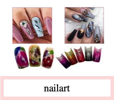 nail art producten en nageldecoratie