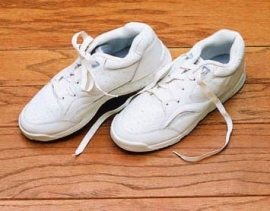 Elastische schoenveters sportschoen