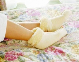 Bedsokken warm en comfortabel