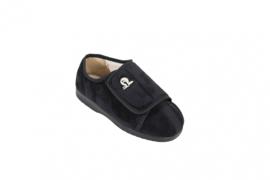 Luxe cameron pantoffel zwart