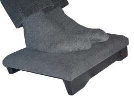 Verwarmd voetenbankje of stoof