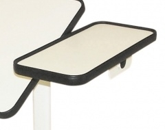Bedleestafel met kantelbaar werkblad