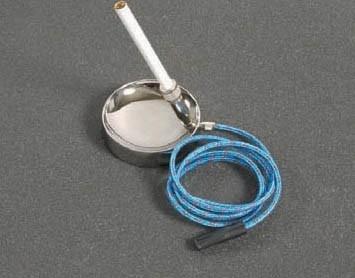 Rokersrobot met slang