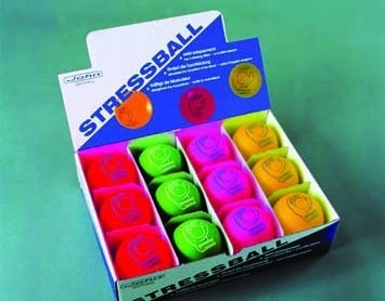 Anti stressbal voor vinger- en handoefeningen