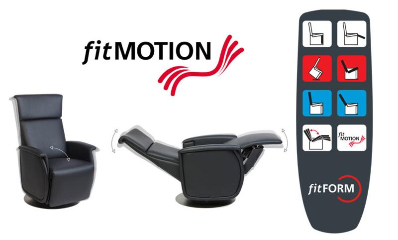 Fitform Sta Op stoel en fitmotion - bewegend zitten