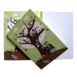 notebook oak tree