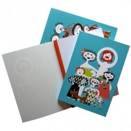 notebook familjen