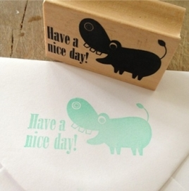 Ingela stempel have a nice day