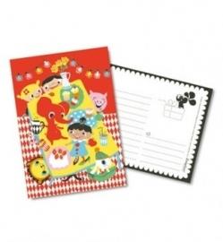 littlephant kaart birthday party  A5
