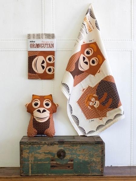 theedoek orangutan