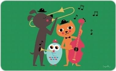 broodplankje animals jazz
