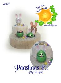 DIY Easter Bunny Egg