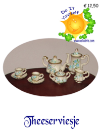 DIY French tea set