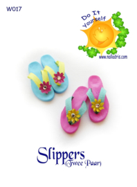 W017 DIY Slippers