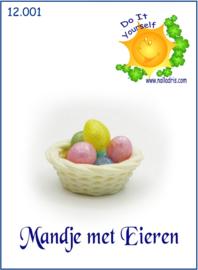 12.001 Mandje met eieren