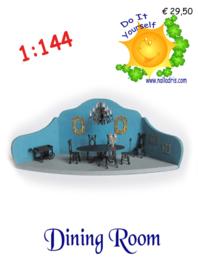 DIY 1:144 Dining Room