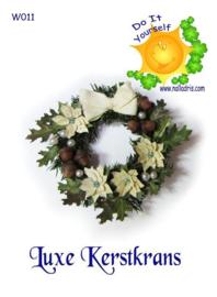 W011 DIY Luxe Kerstkrans